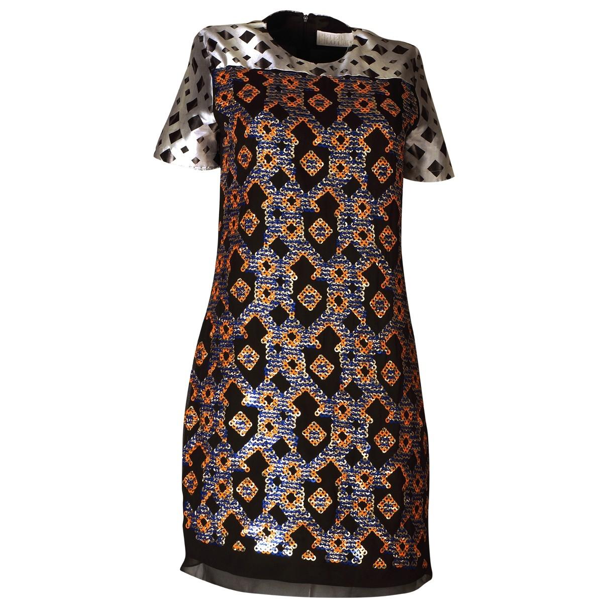 Peter Pilotto - Robe   pour femme en soie - multicolore
