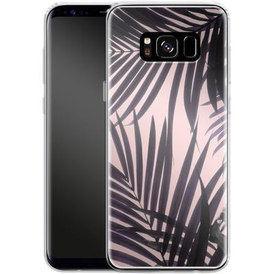 Samsung Galaxy S8 Silikon Handyhuelle - Delicate Jungle Theme von Emanuela Carratoni
