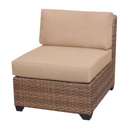 TKC025b-AS-DB-WHEAT Laguna Armless Sofa 2 Per Box with 2 Covers: Wheat and