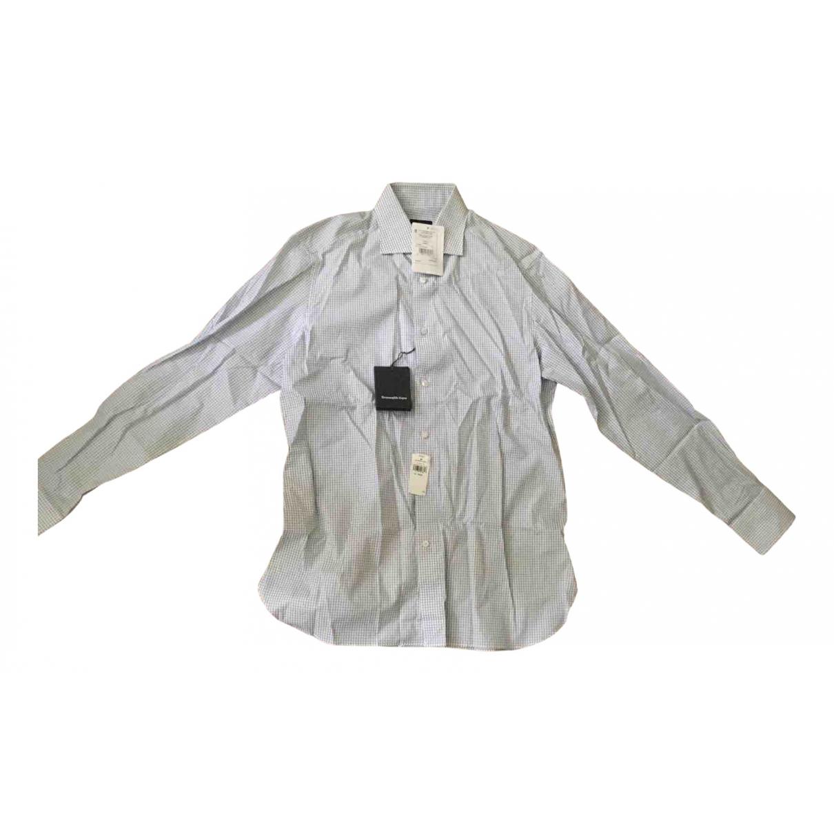 Ermenegildo Zegna - Chemises   pour homme en coton - blanc