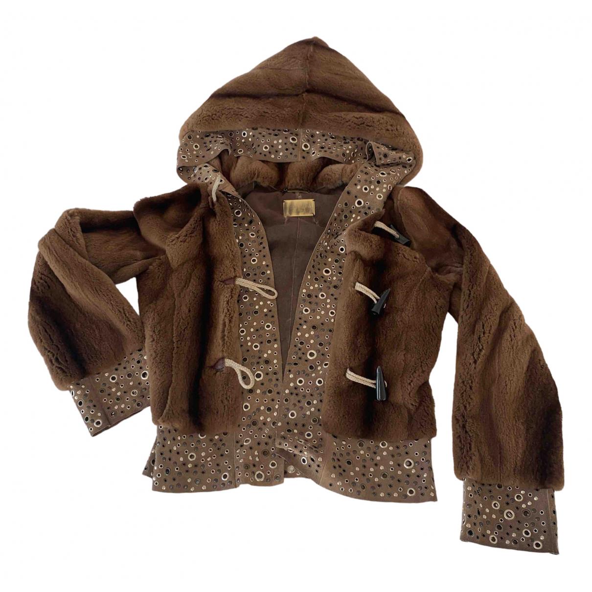 Dolce & Gabbana - Blouson   pour femme en vison - marron