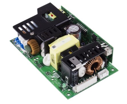 Mean Well , 113W Embedded Switch Mode Power Supply SMPS, 24V dc, Open Frame, Medical Approved