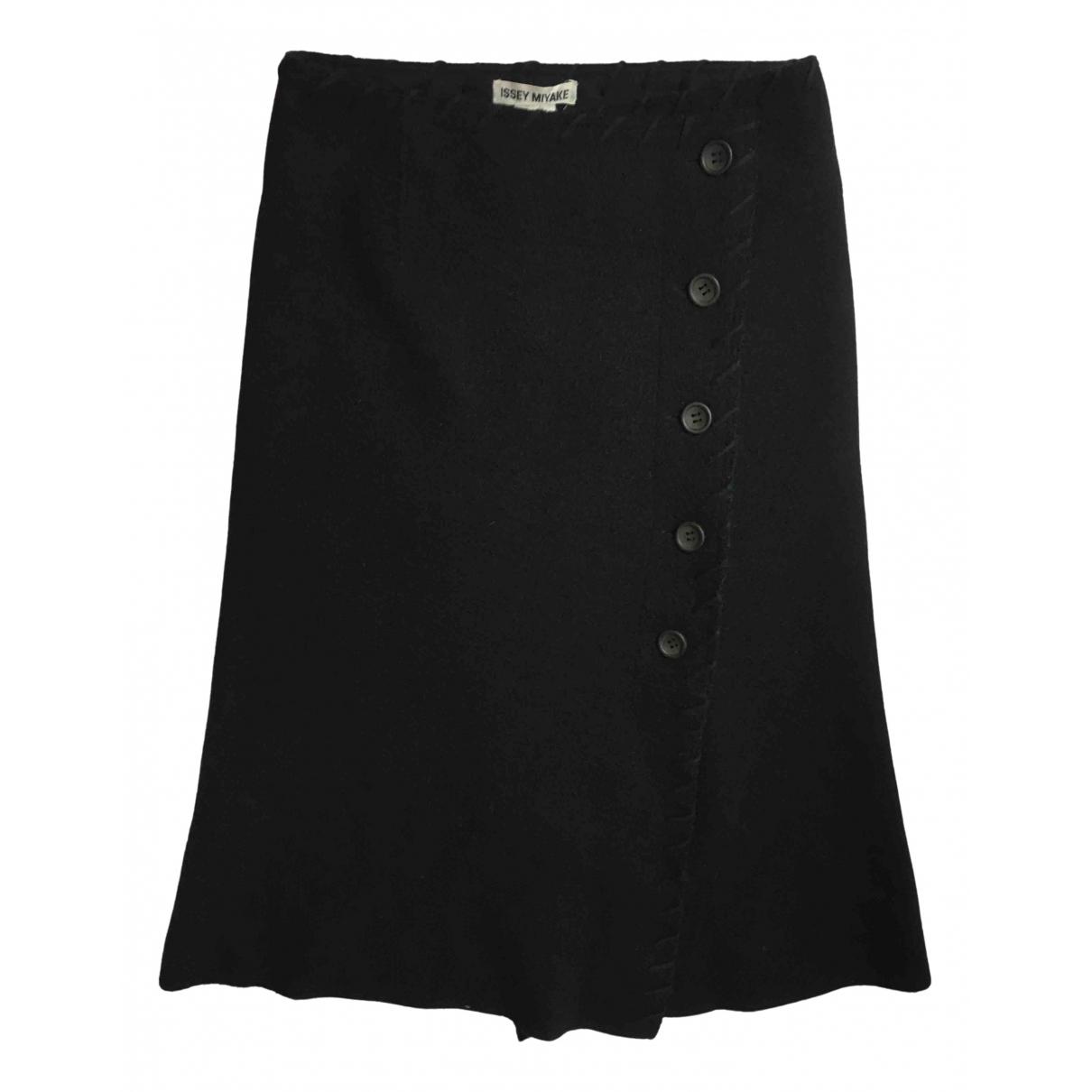 Issey Miyake N Black Wool skirt for Women 2 0-5