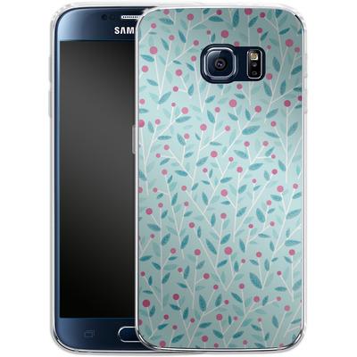 Samsung Galaxy S6 Silikon Handyhuelle - Merry Berries von Little Clyde