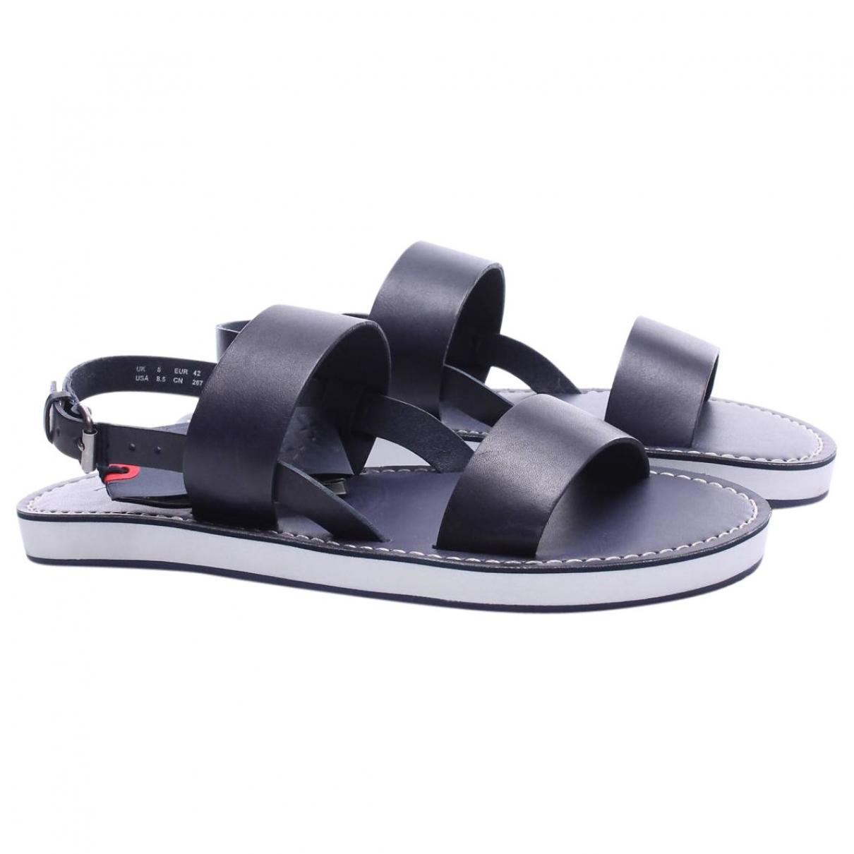 Sandalias de Cuero Armani Jeans