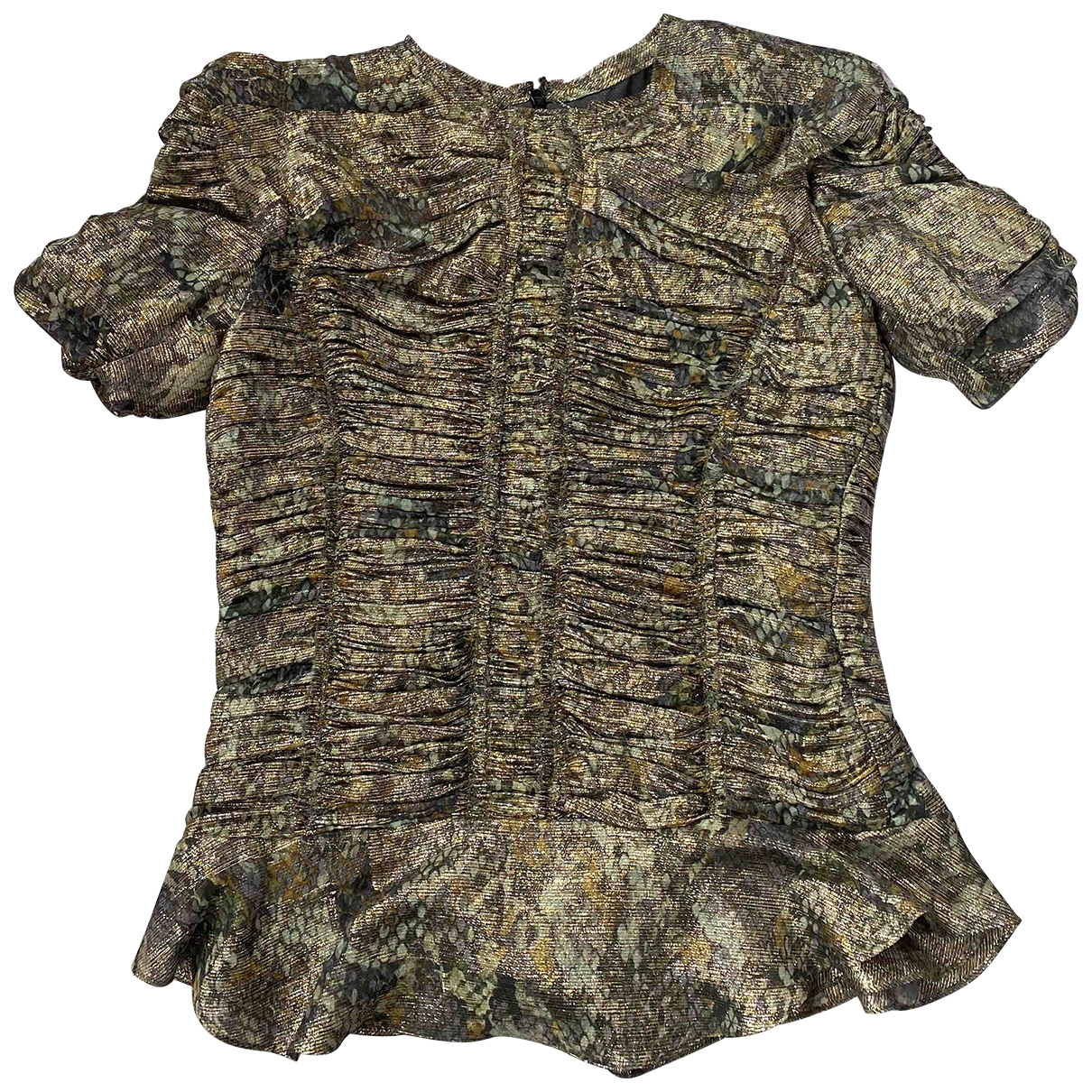 Isabel Marant \N Metallic Silk  top for Women 36 FR