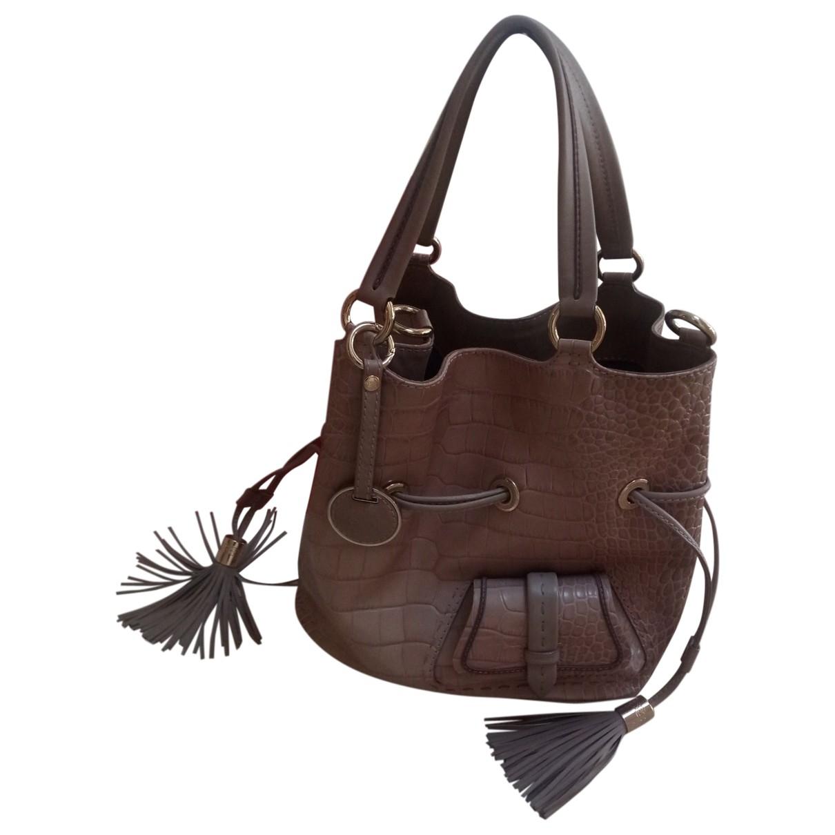 Lancel 1er Flirt Black Leather handbag for Women \N