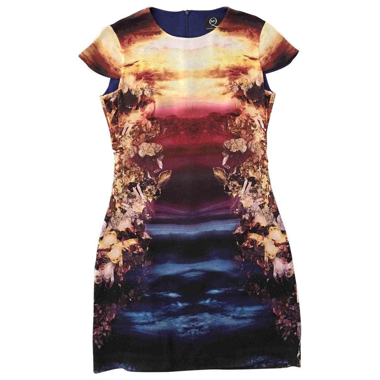 Mcq \N Multicolour Silk dress for Women 38 IT
