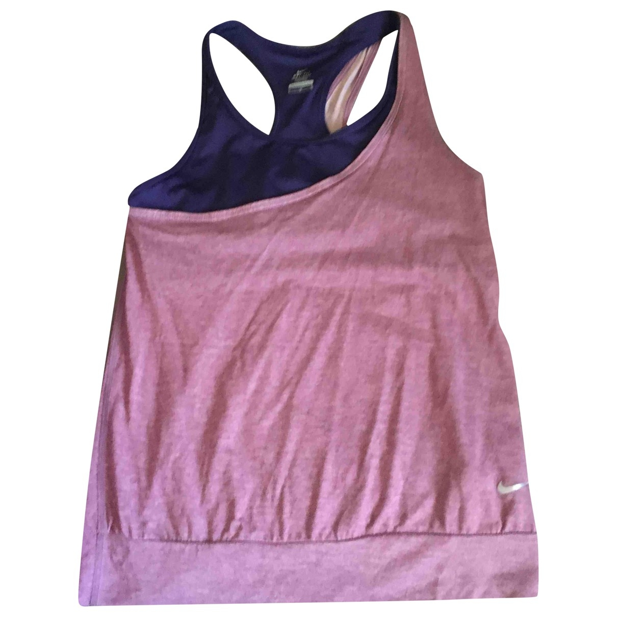 Nike \N Top in  Lila Synthetik
