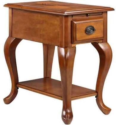 13189 Shenandoah Chairside Table  in Honey