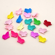 20pcs Toddler Girls Butterfly Design Hair Claw