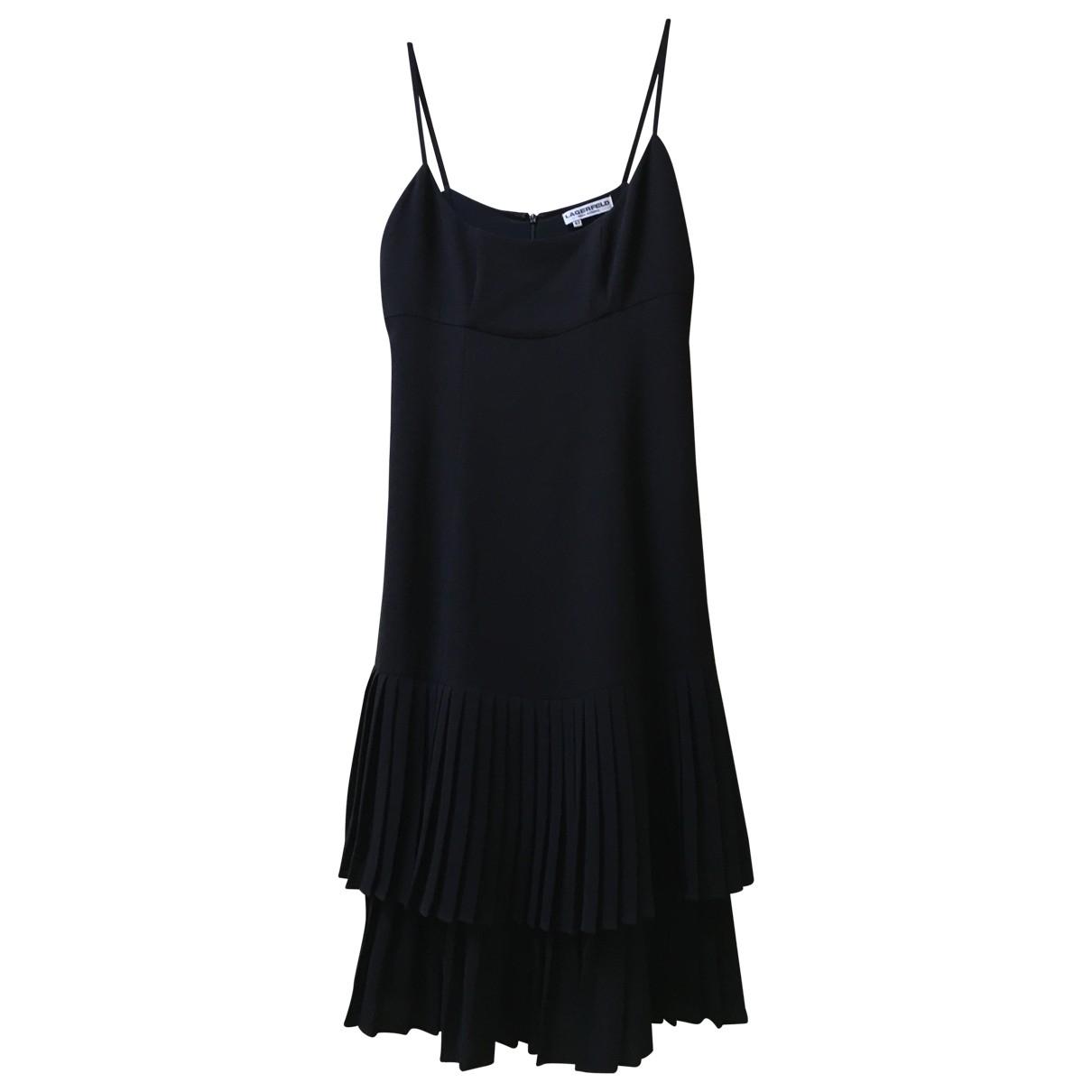 Karl Lagerfeld - Robe   pour femme - noir