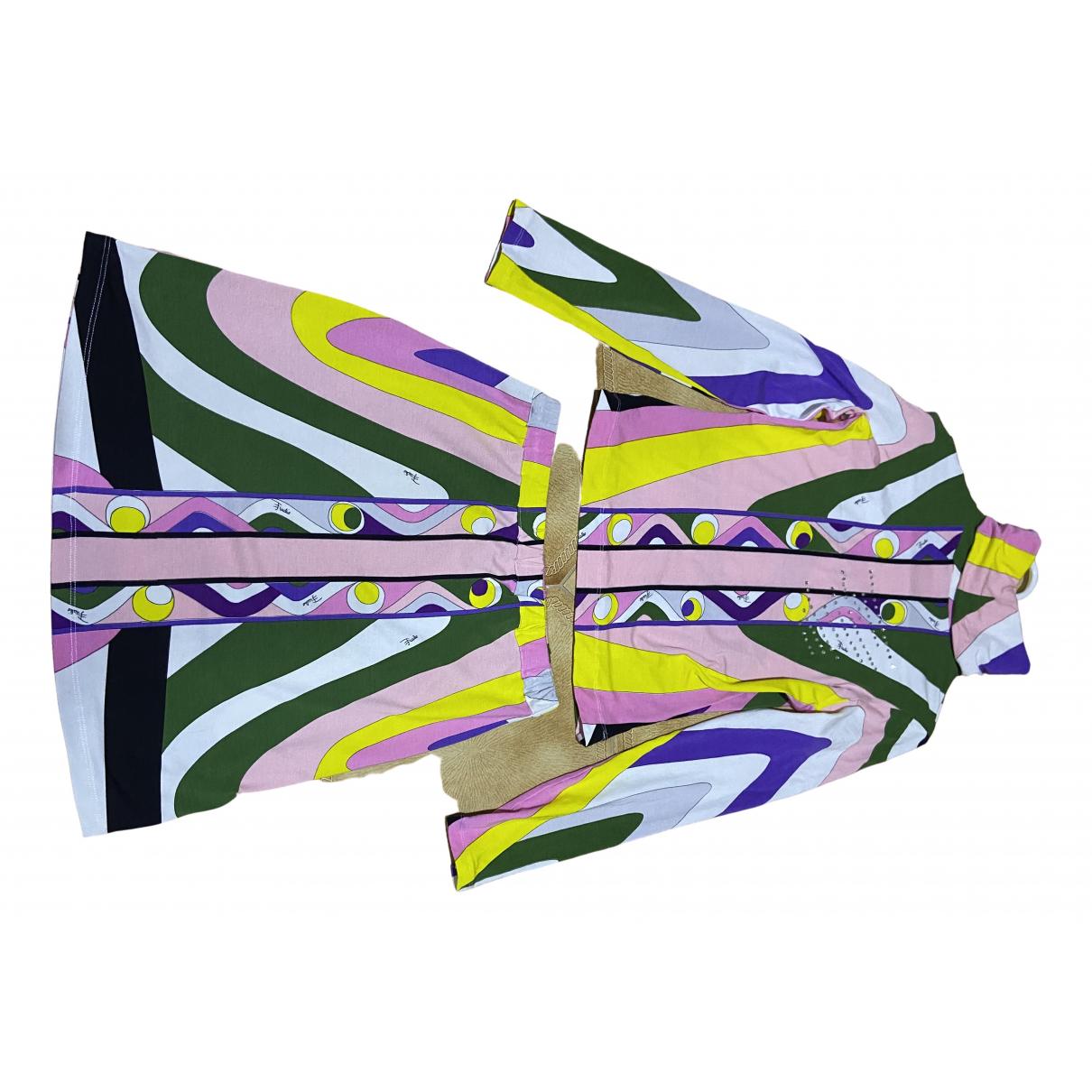 Emilio Pucci \N Multicolour Cotton jumpsuit for Women S International