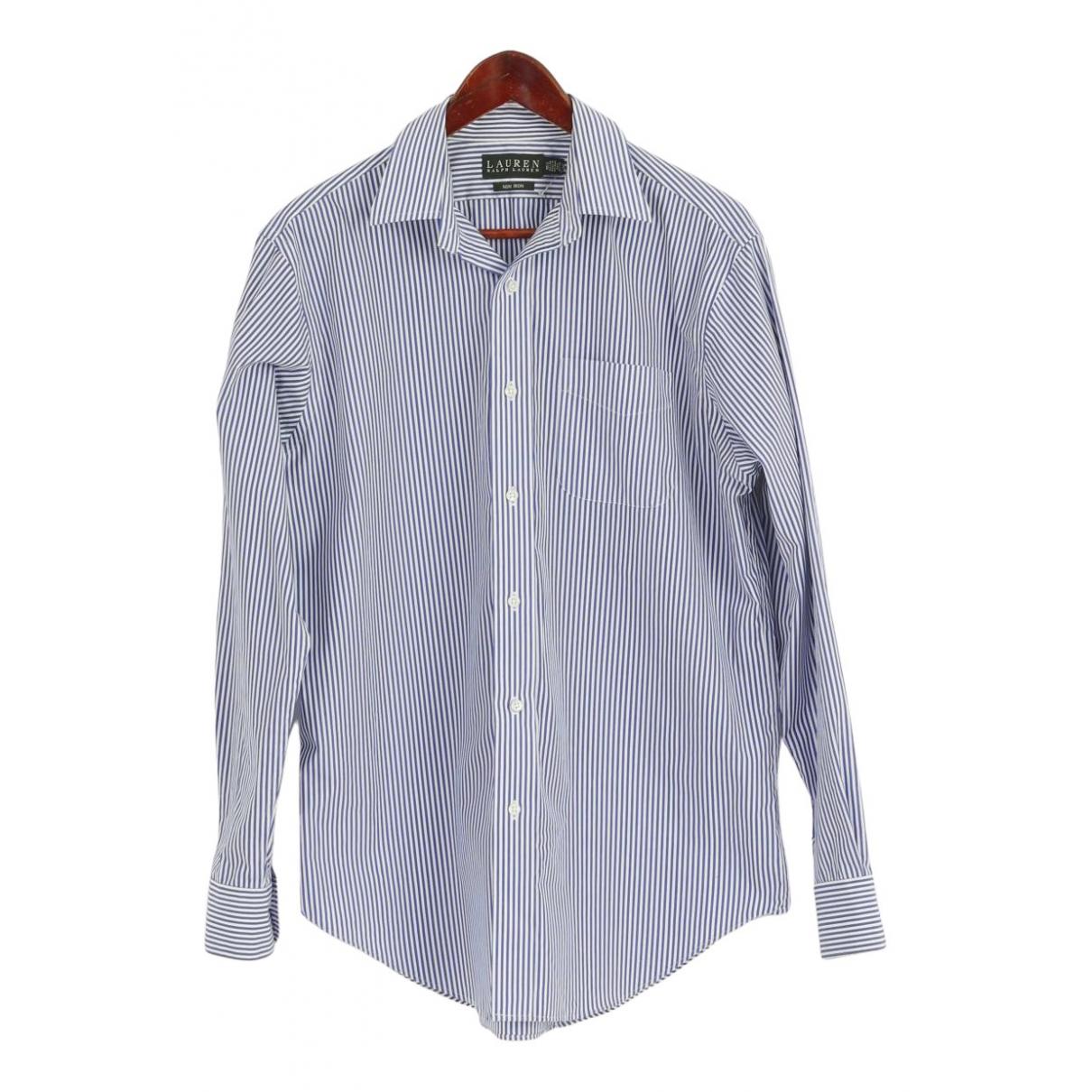 Lauren Ralph Lauren - Chemises   pour homme en coton - bleu