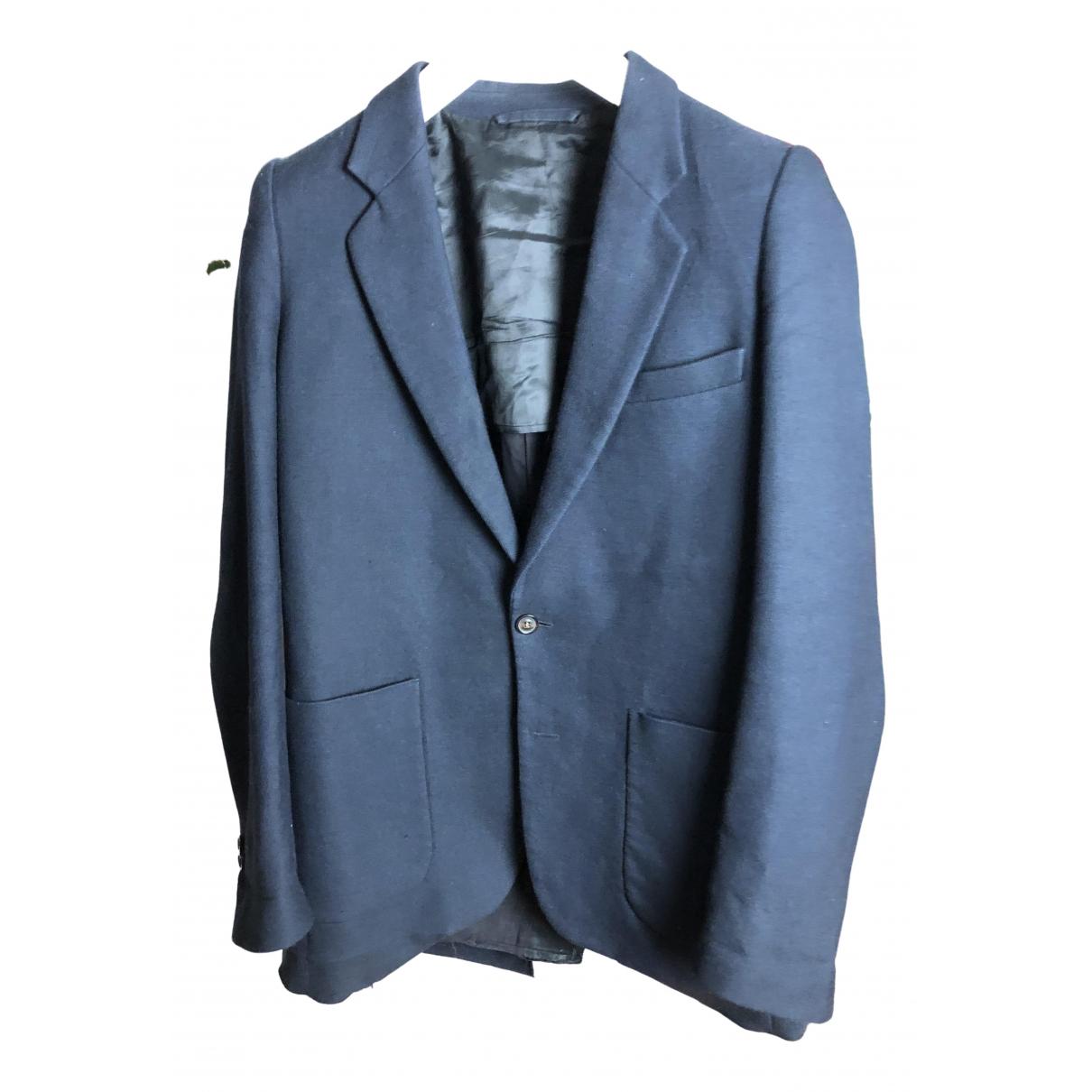Maison Martin Margiela N Navy Wool jacket  for Men 48 IT