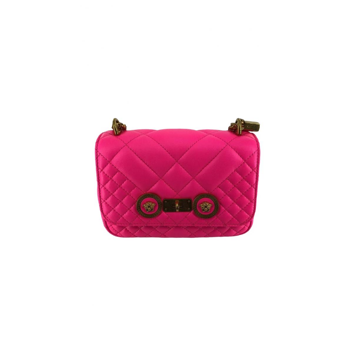 Versace \N Pink Leather handbag for Women \N