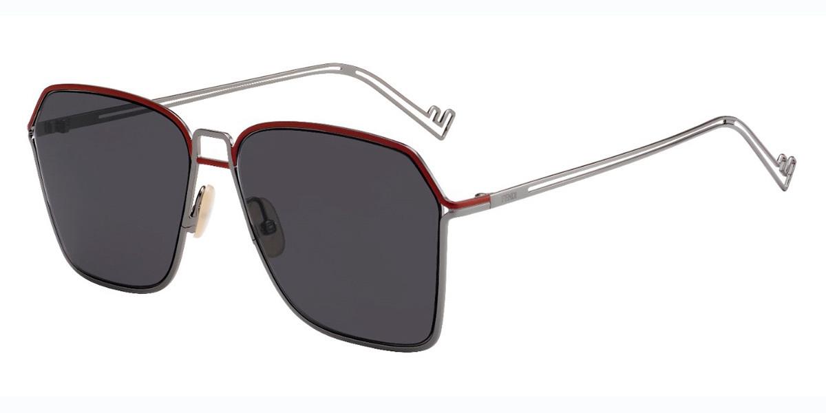 Fendi FF M0072/S KJ1/IR Mens Sunglasses Grey Size 60