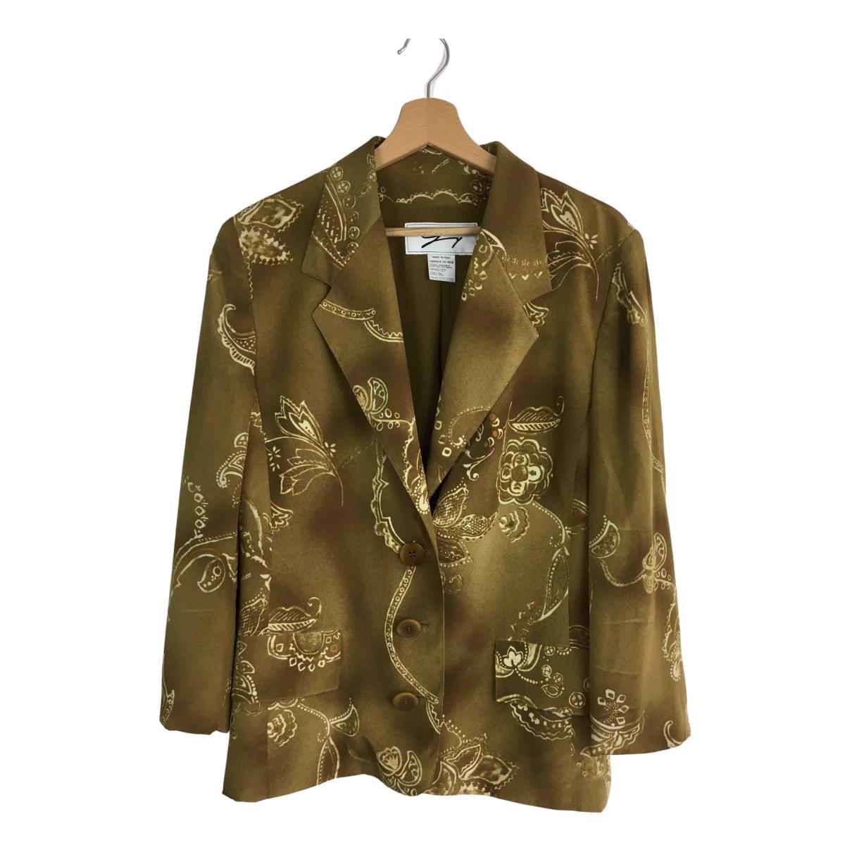 Genny - Veste   pour femme en soie - multicolore