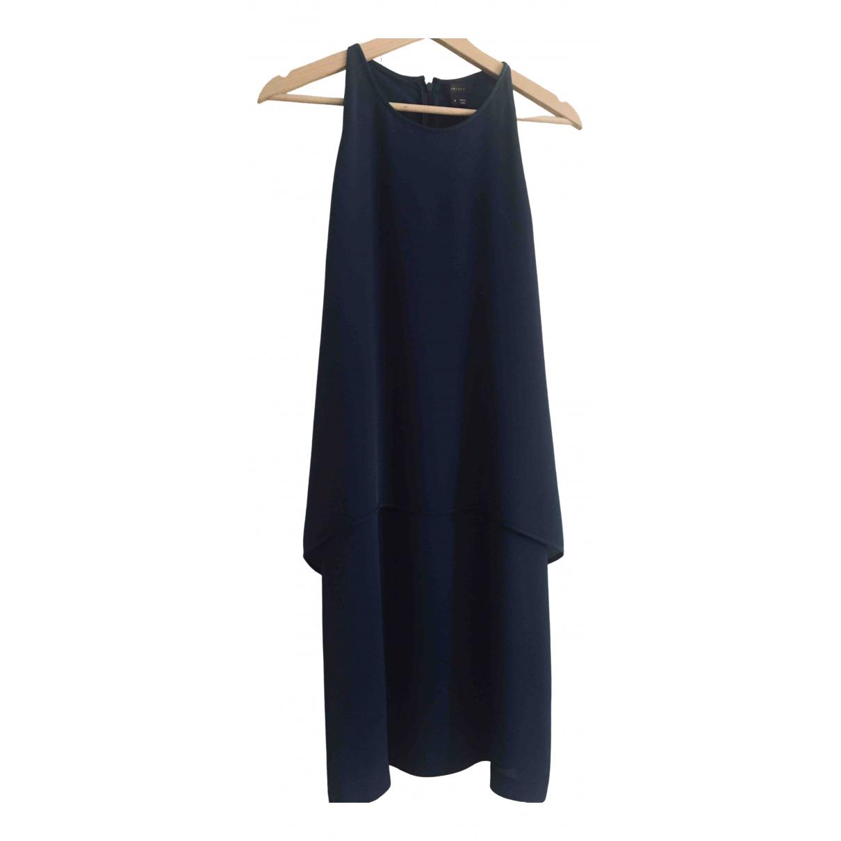 Theory \N Blue Silk dress for Women 6 US