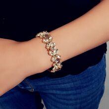 Gemstone Decor Bracelet