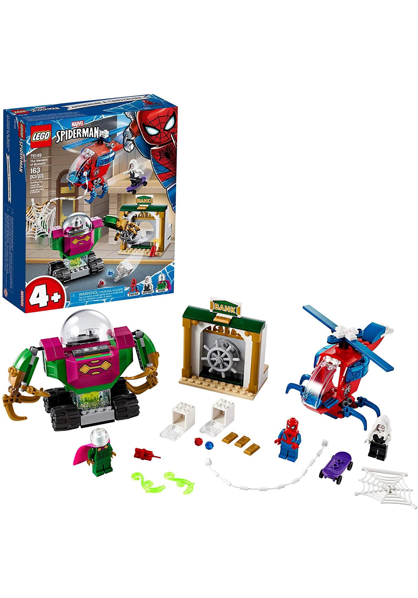 Marvel LEGO Spider-Man The Menace of Mysterio Building Set