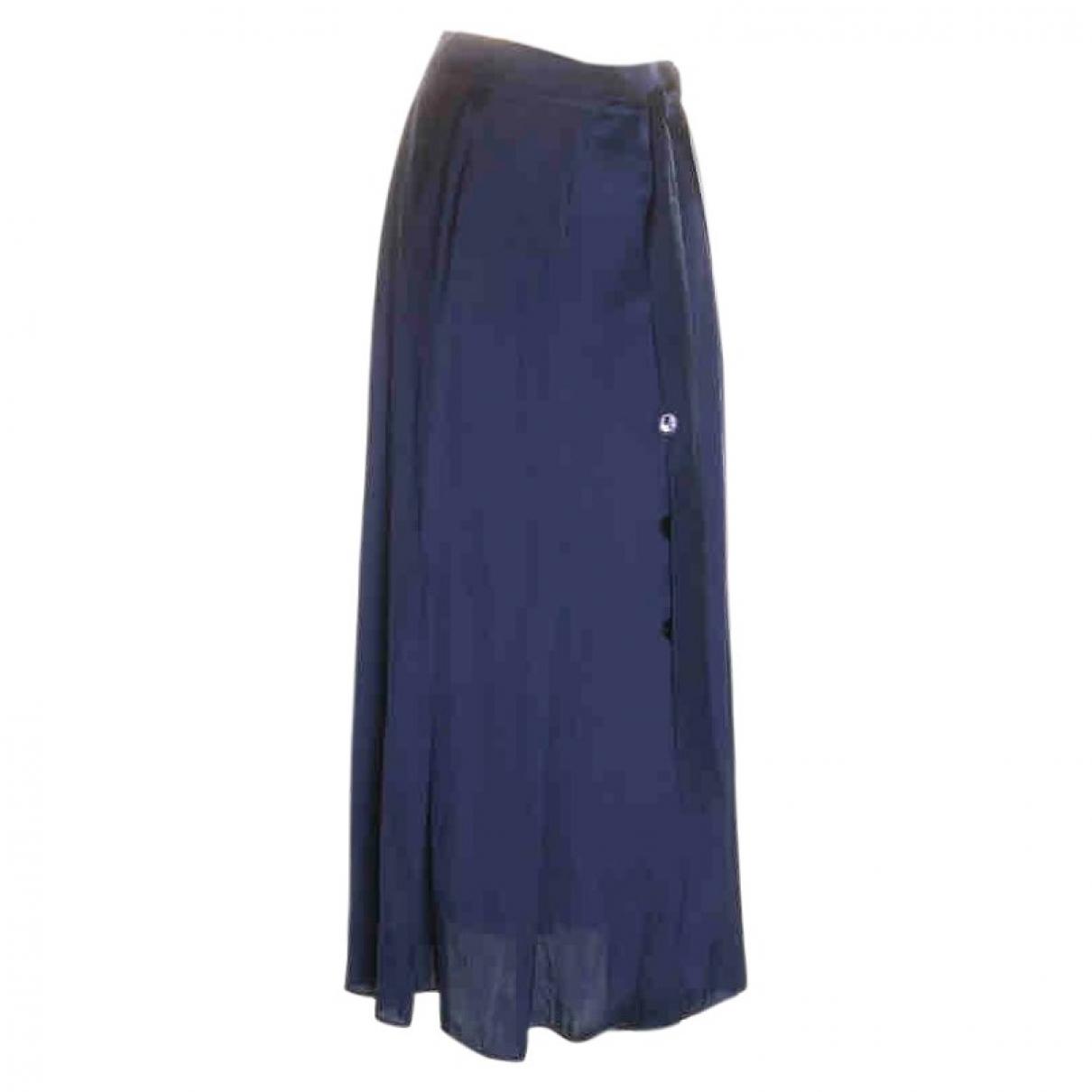 Massimo Dutti \N Rocke in  Blau Polyester