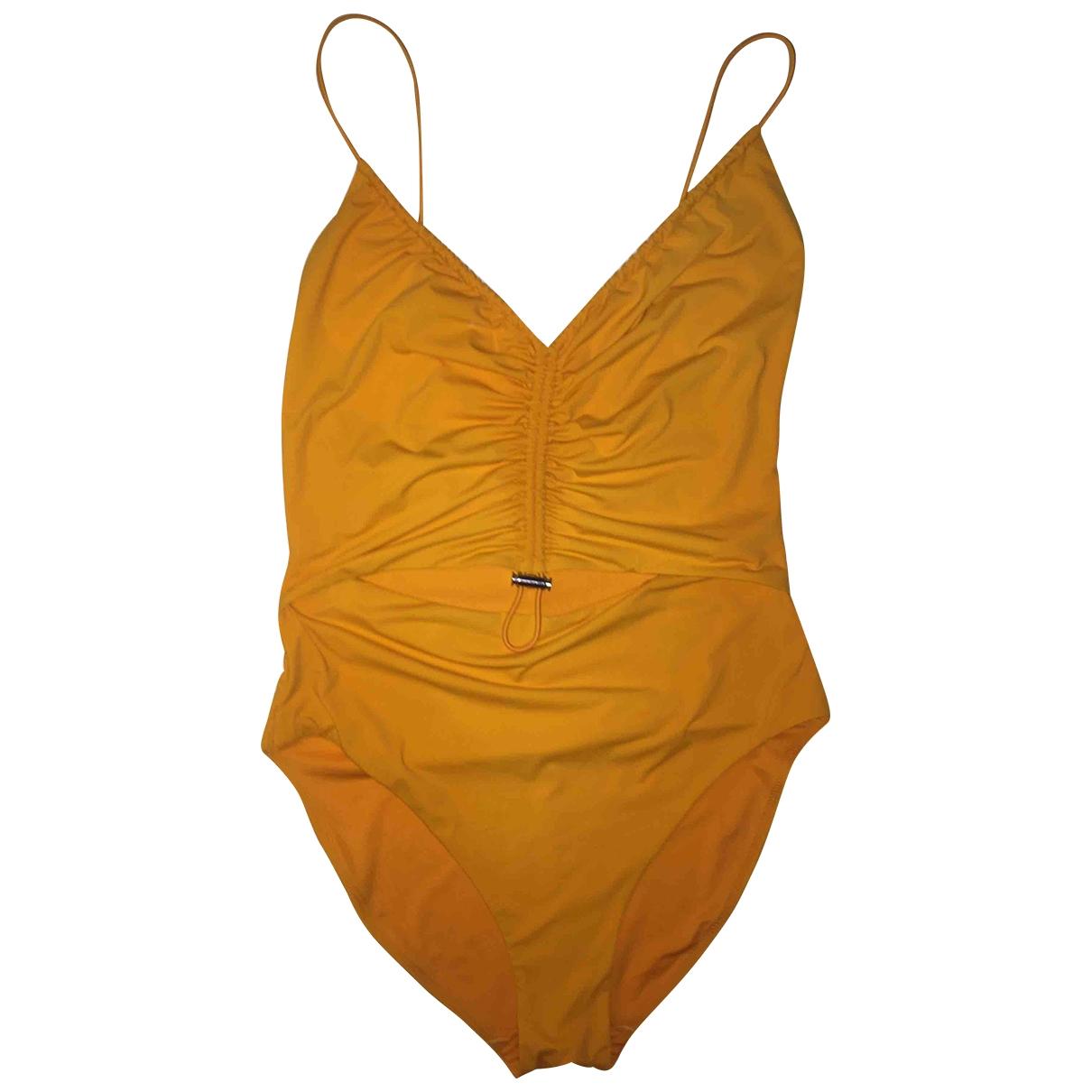 Weekday - Bain   pour femme - jaune