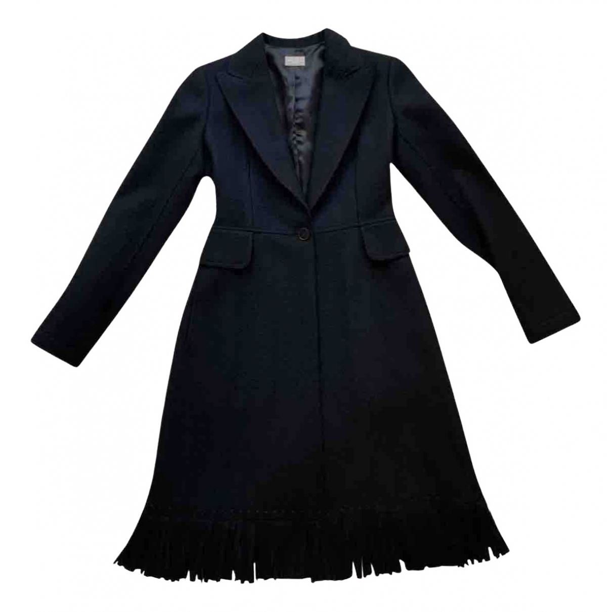 Alaïa N Black Wool Trench coat for Women 36 FR