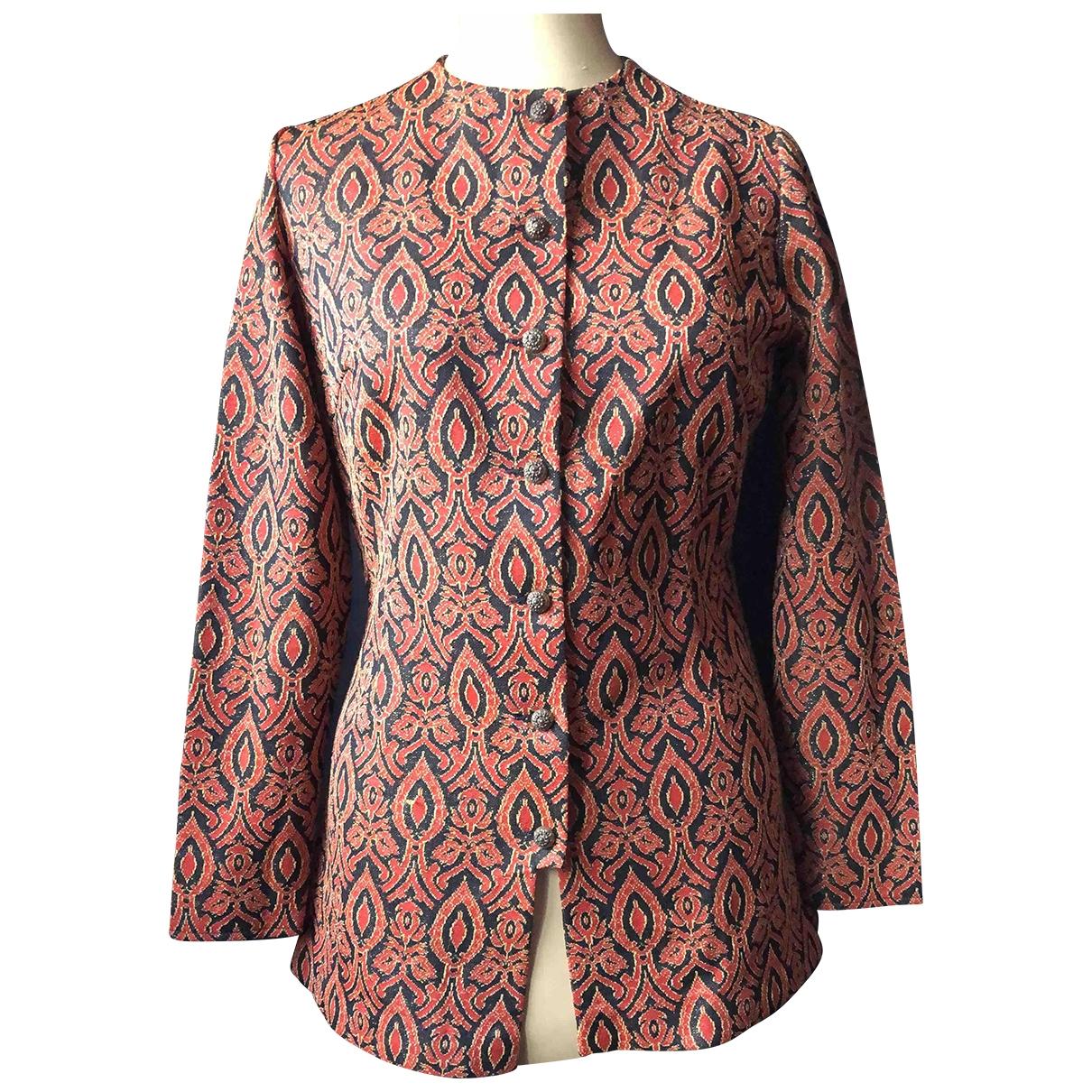 Non Signé / Unsigned \N Orange jacket for Women 42 FR