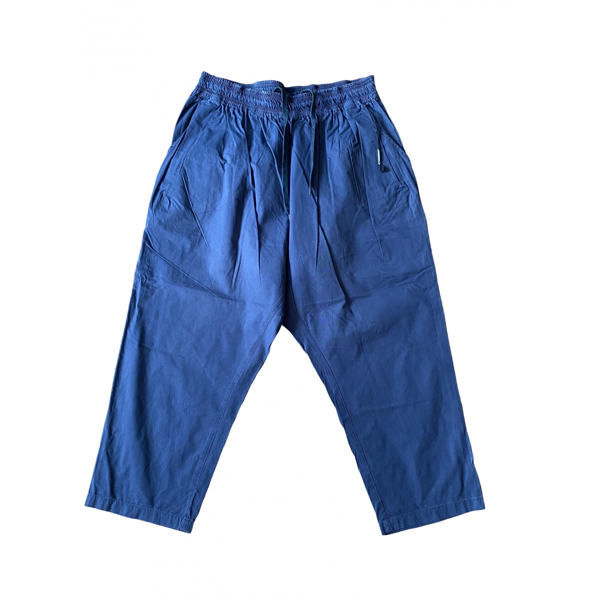 Damir Doma \N Black Cotton Trousers for Men M International