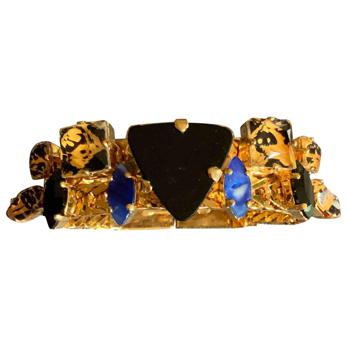 Sabrina Dehoff - Bracelet   pour femme en metal - dore