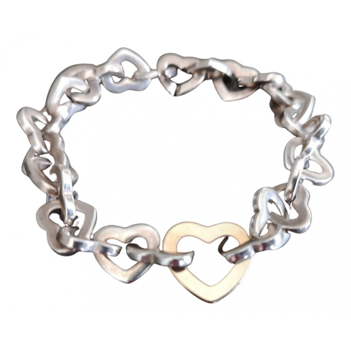 Tiffany & Co \N Armband in  Silber Silber