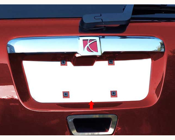 Quality Automotive Accessories 1-Piece License Plate Bezel Saturn Outlook 2009