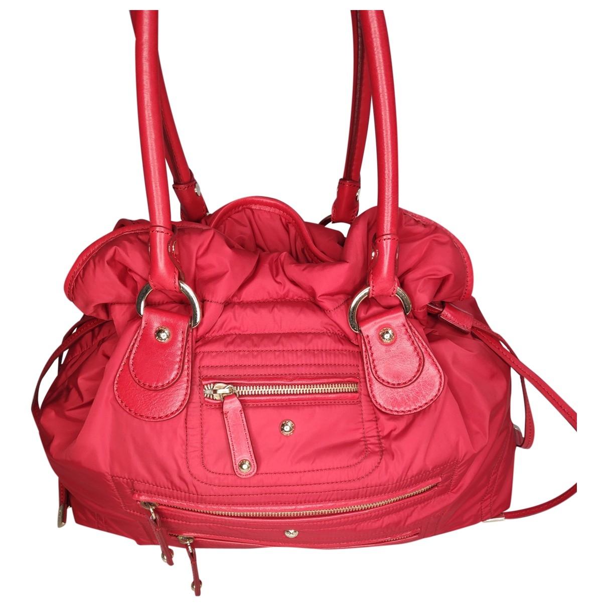 Tods \N Handtasche in  Rot Leinen
