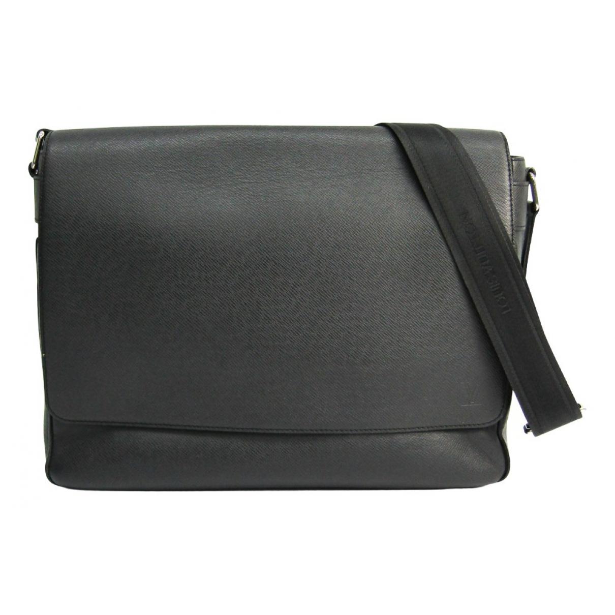 Louis Vuitton Roman Black Leather bag for Men N