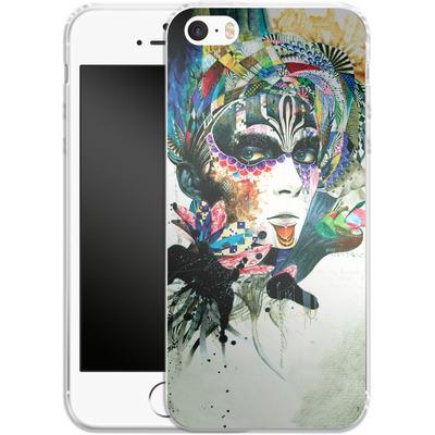 Apple iPhone 5 Silikon Handyhuelle - Blossom Desire von Minjae Lee