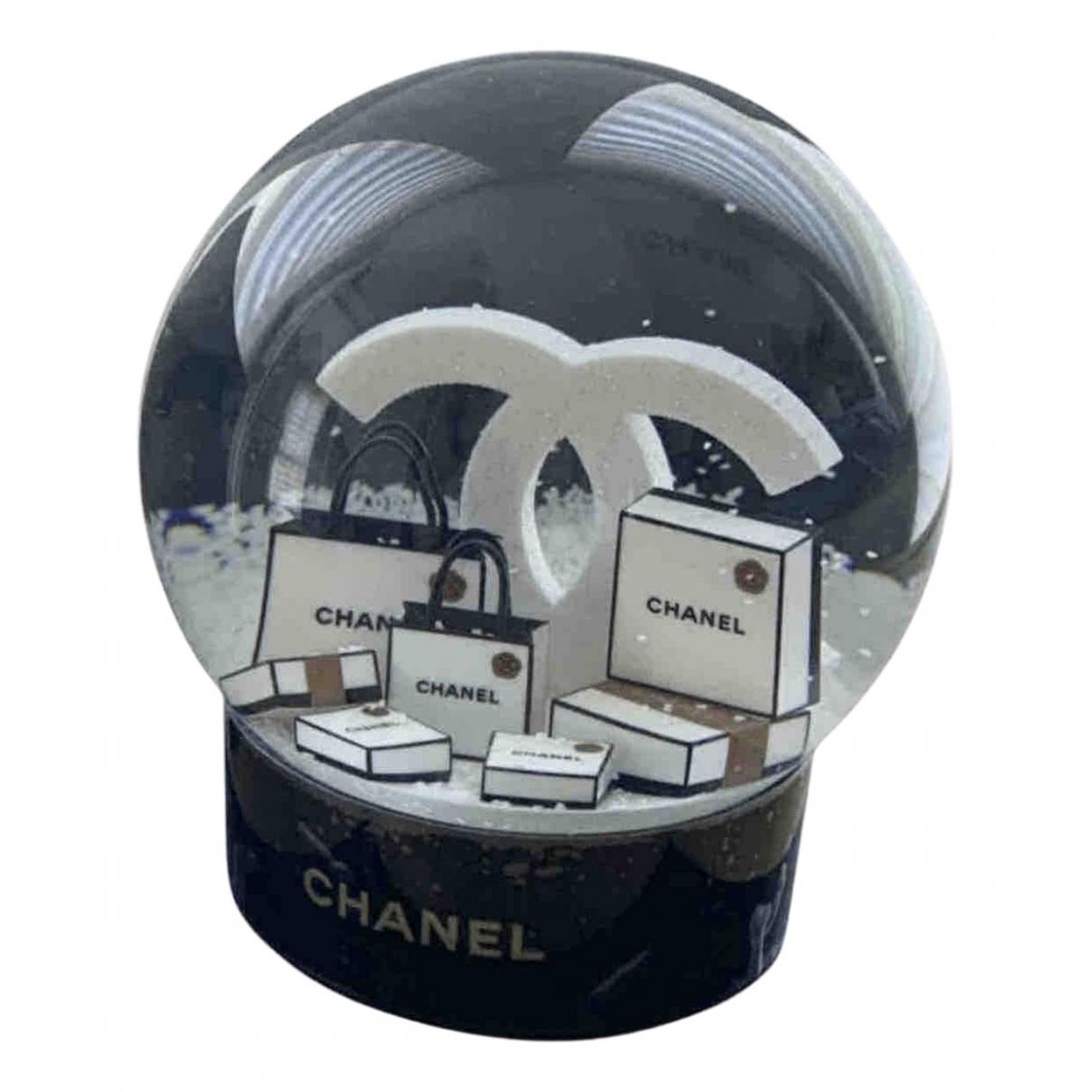 Chanel \N Accessoires und Dekoration in  Schwarz Glas