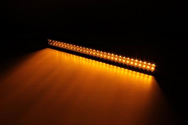 31.5 Inch Amber To White LED Light Bar Lifetime LED Lights LLL180-10200-AW-2