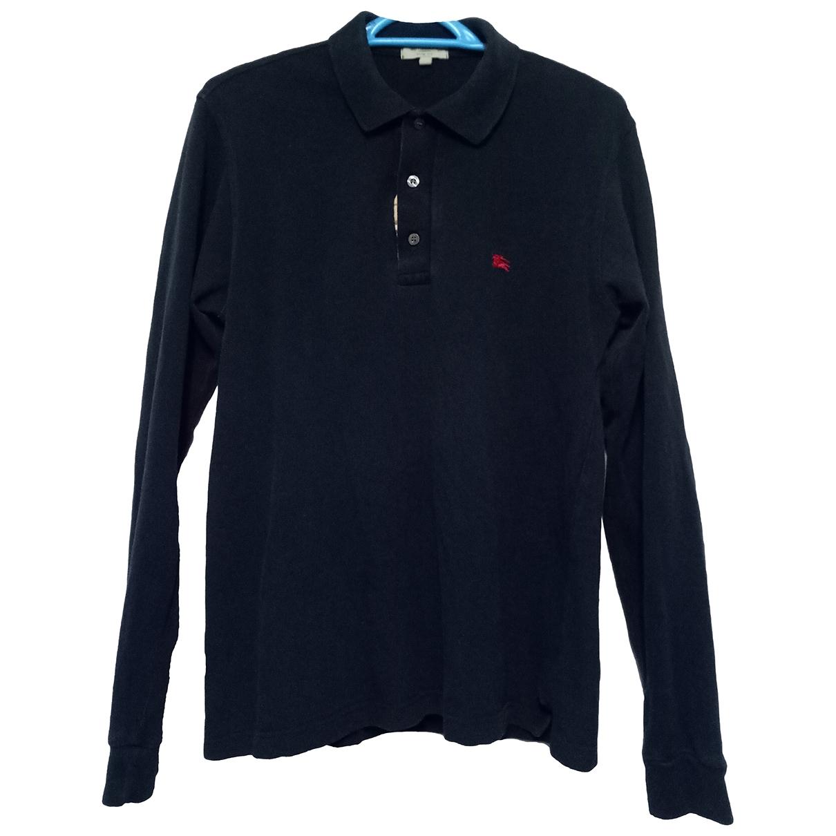 Polo en Algodon Marino Burberry