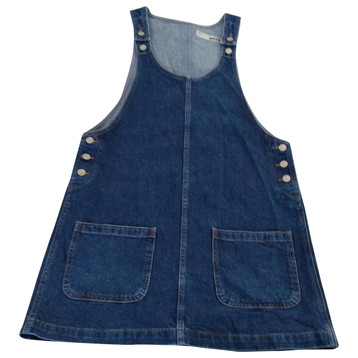 Tophop \N Kleid in  Blau Denim - Jeans