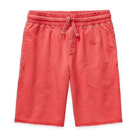 Arizona Little & Big Boys Jogger Short, X-large (18-20) , Red
