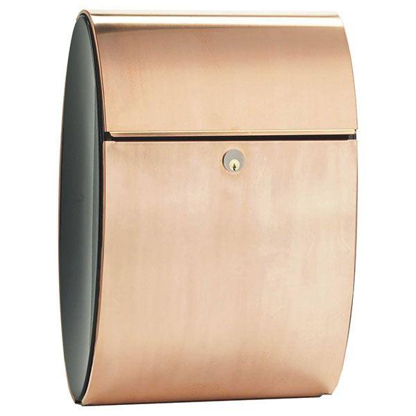 Allux Ellipse Mailbox, Copper