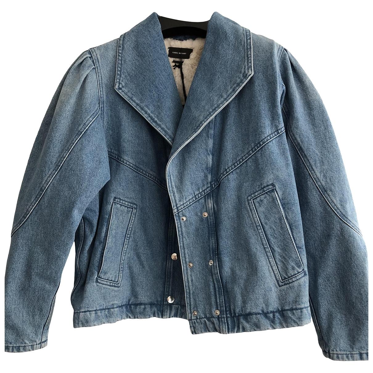 Isabel Marant \N Blue Denim - Jeans jacket for Women 38 FR