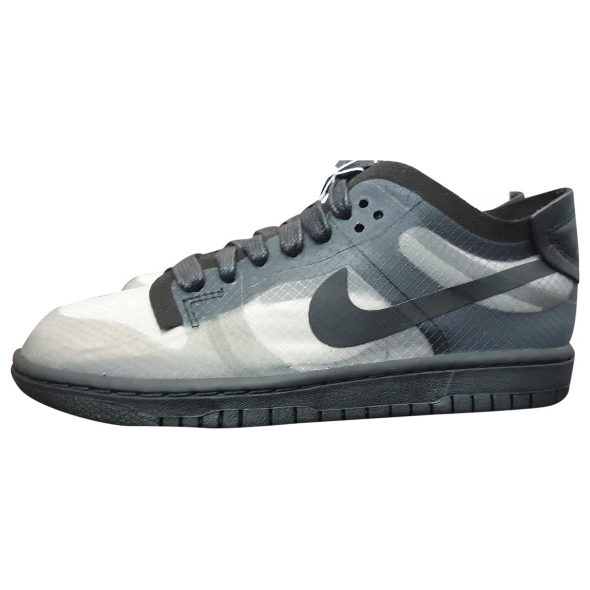 Nike X Comme Des Garçons \N Black Cloth Trainers for Women 36 EU