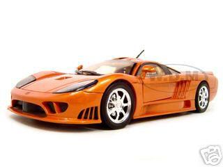 Saleen S7 Copper 1/18 Diecast Model Car by Motormax