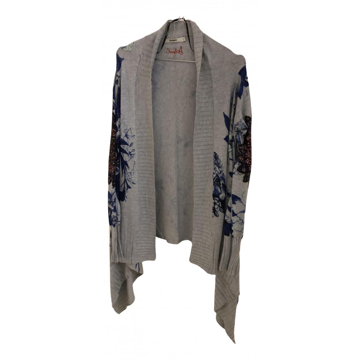 Desigual N Grey Knitwear for Women 36 FR