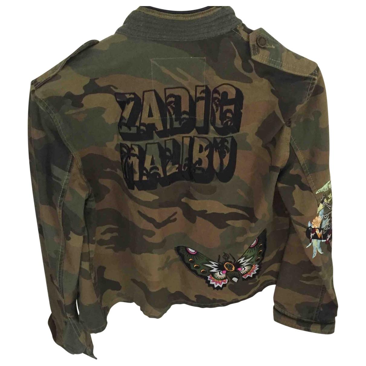 Zadig & Voltaire - Blouson   pour femme en coton - multicolore