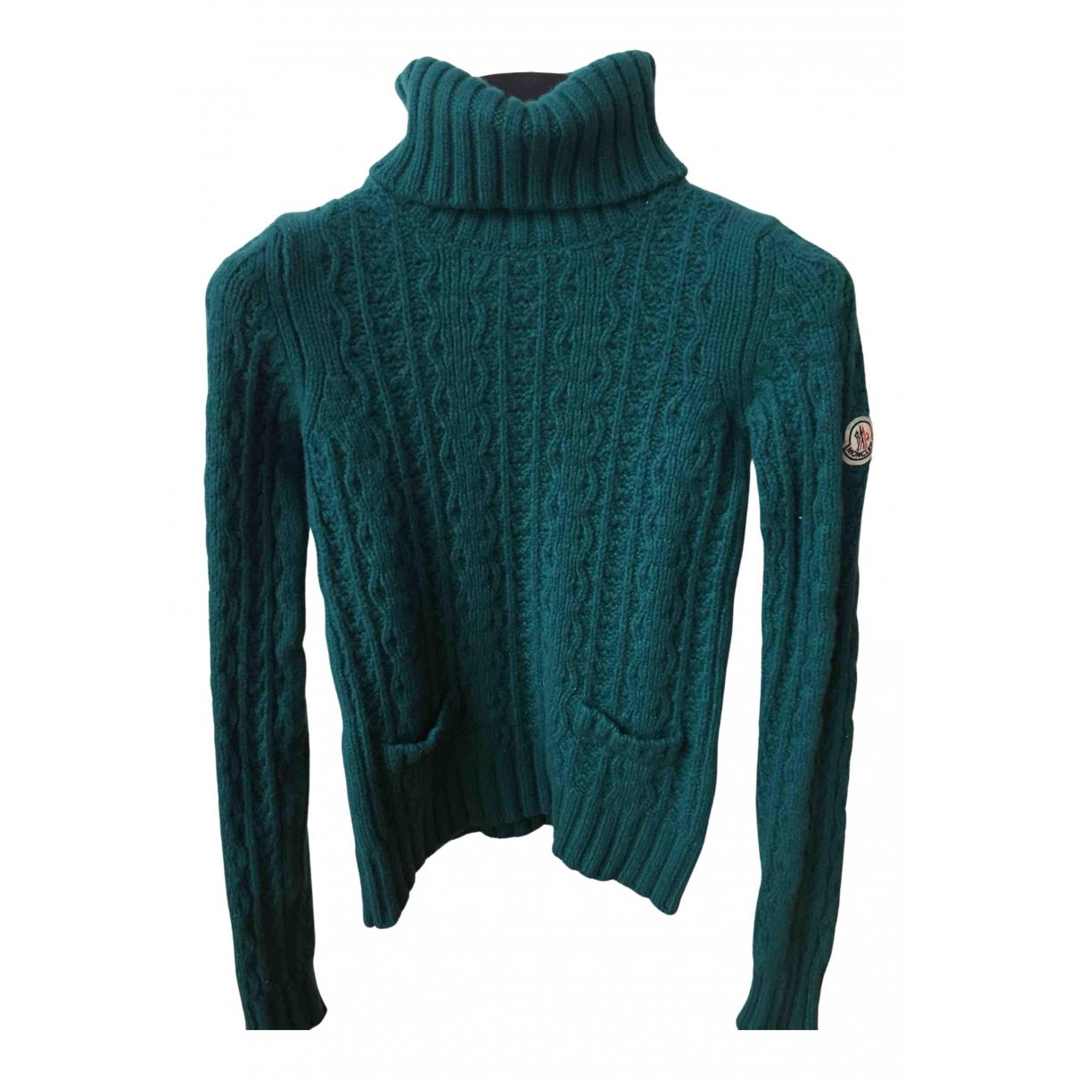 Moncler \N Green Wool Knitwear for Women XS International