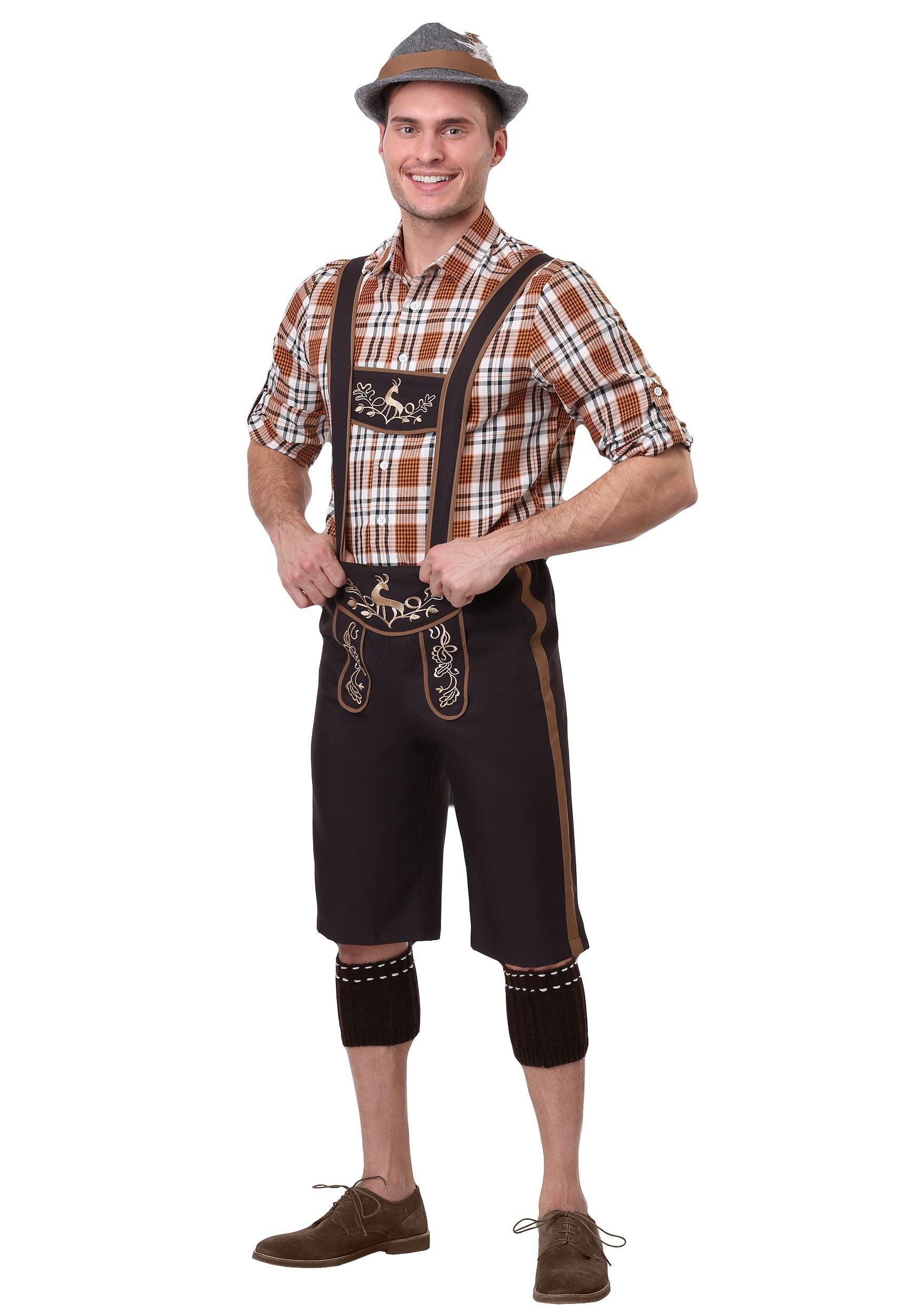 Plus Size Men's Oktoberfest Stud Costume