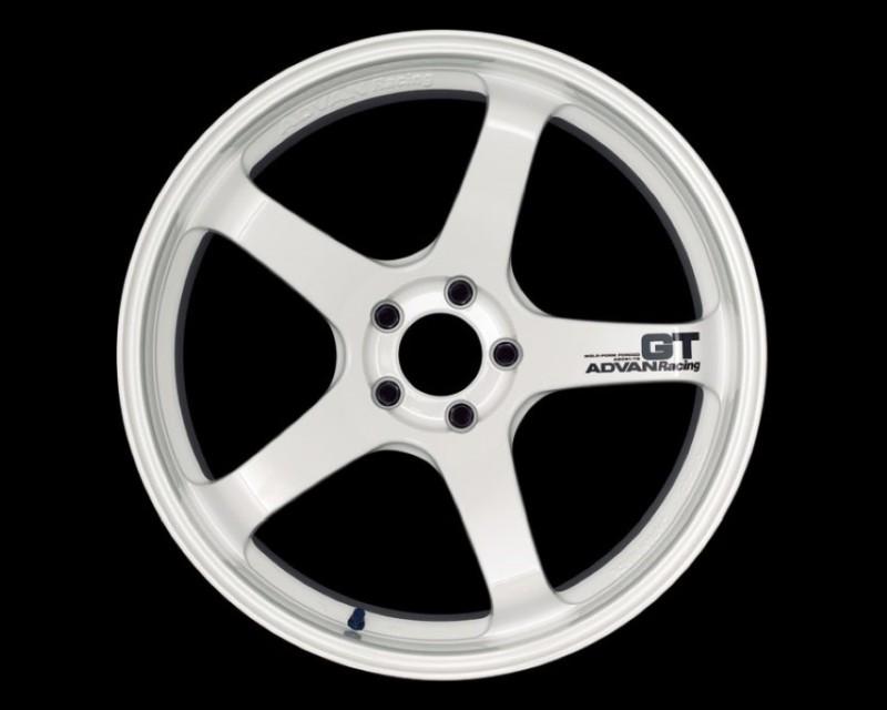 Advan GT Premium Wheel 19x9.5 5x120 21mm Racing White